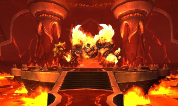 Ragnaros na nova Firelands (Foto: Divulgação)