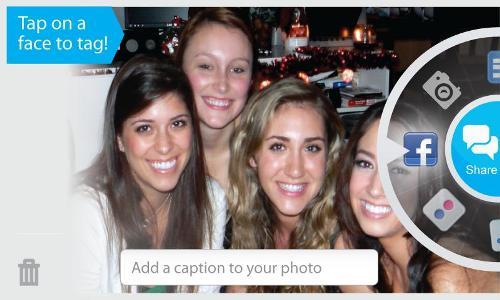 Marque seus amigos com o Viewdle SocialCamera no Android (Foto: Divulgação)