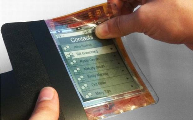 Telefone flexível (Foto: Divulgação)