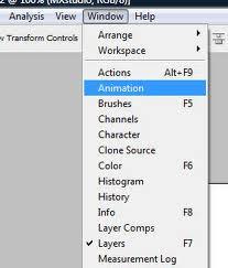 Abrindo a ferramenta de Animação (Foto: Reprodução)