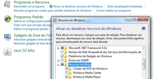 Windows Media Center (Foto: Reprodução/TechTudo)
