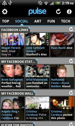 Interface do Pulse News (Foto: Divulgação)