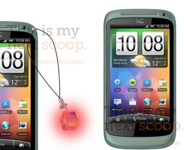 Smartphone voltado para o público feminino (Foto: Reprodução/Ubergizmo)