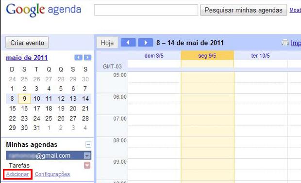 Google Agenda (Foto: Reprodução/TechTudo)