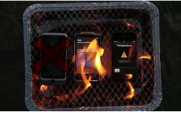 Churrasquinho de smartphone (Foto: Reprodução)