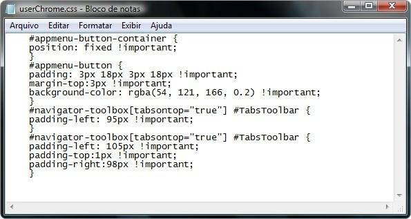 Copiando o código fonte (Foto: Divulgação)