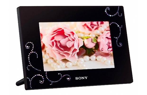 Porta-retrato digital Sony (Foto: Divulgação)