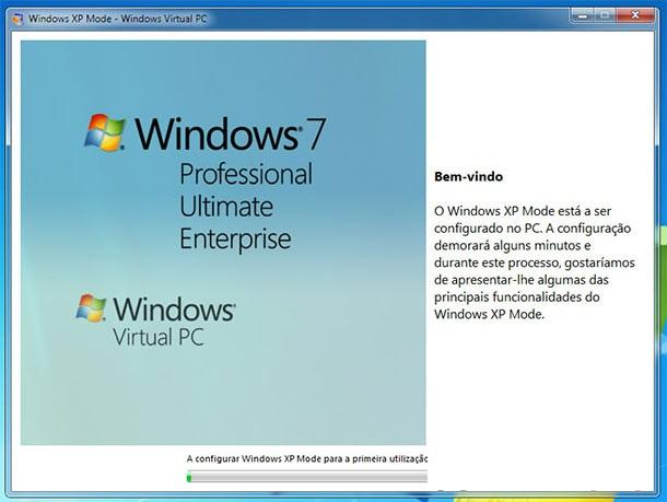 Instalando o Windows XP Mode (Foto: Reprodução)