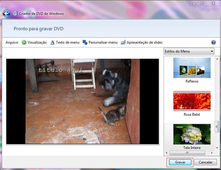 Gravando DVD (Foto: Reprodução)