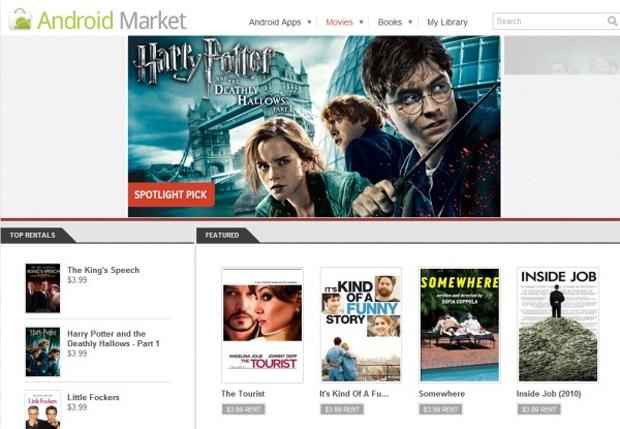 Movies no Android Market (Foto: Reprodução)