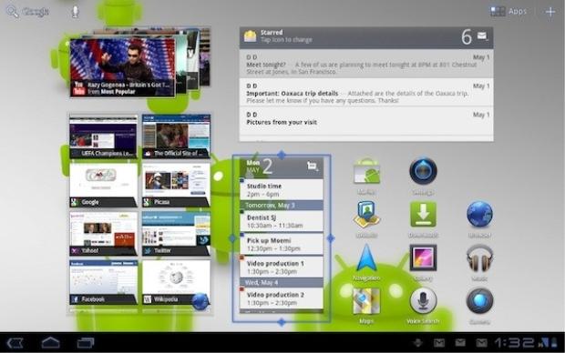 Android Honeycomb 3.1 (Foto: Divulgação)