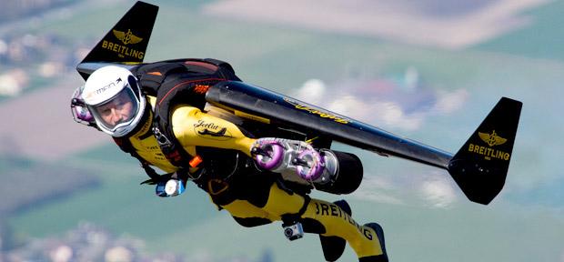Jetman em ação (Foto: Reprodução)