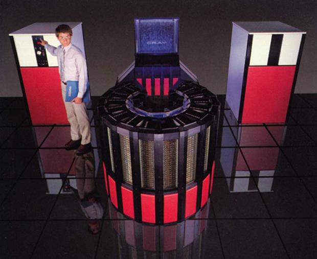 Super computador de 25 anos atrás (Foto: Divulgação)
