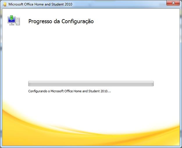 Progresso da instalação (Foto: Reprodução)