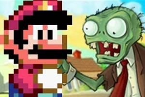 Mario Vs. Zombies (Foto: Reprodução)