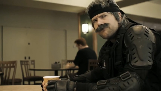 Snake em Modern War Gear Solid (Foto: Reprodução)