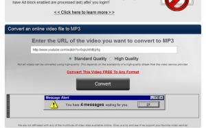 Cole a URL do vídeo na barra indicada (Foto: Reprodução)