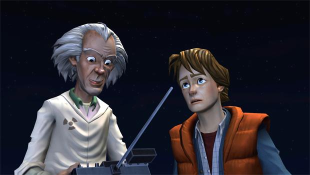 Doc Brown e Marty estão de volta em Back to the Future: The Game (Foto: Divulgação)