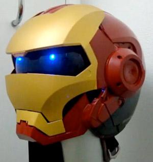 Capacete do Homem de Ferro (Foto: Reprodução)
