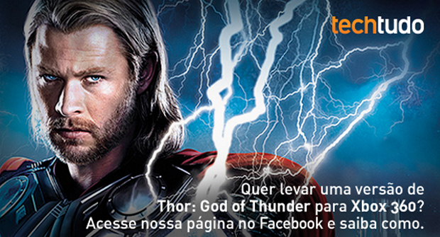 Promoção Thor: The Video Game (Foto: TechTudo)