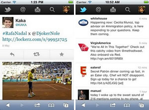 Twitter no iPhone (Foto: Divulgação)