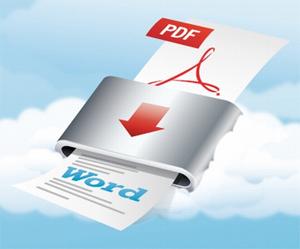 PDF to Word (Foto: Divulgação)