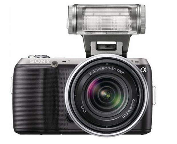 Sony Nex-C3. (Foto: Divulgação)