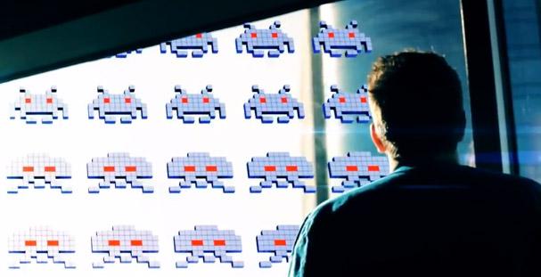 Space Invaders no mundo real (Foto: Reprodução)