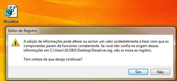 Desativando a atualização automática do Windows Media Player (Foto: Reprodução/TechTudo)
