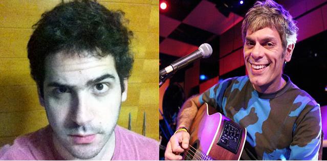 Daniel Pinho e Roger, do Ultraje a Rigor. (Foto: Divulgação)