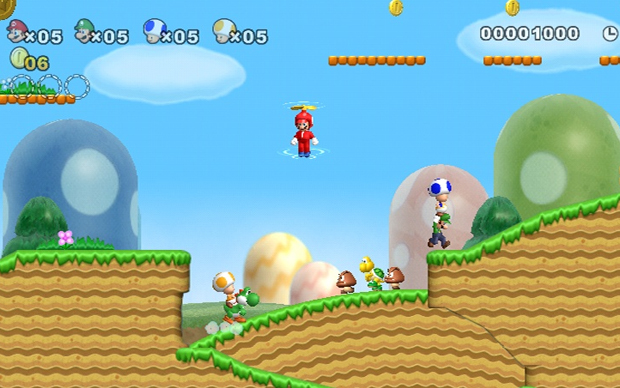 New Super Mario Bros. Wii  (Foto: Divulgação)