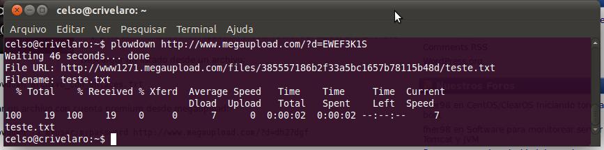 erminar no Ubuntu (Foto: Reprodução)