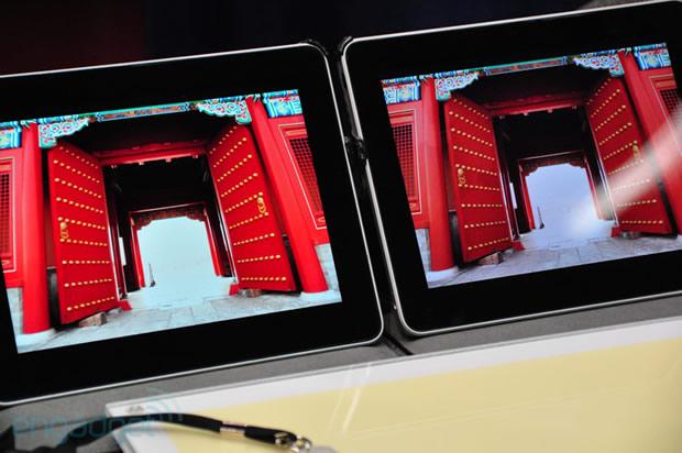 iPad com tecnologia QDEF. (Foto: Divulgação)
