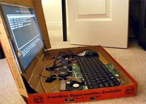 Pizza Box Laptop (Foto: Divulgação)