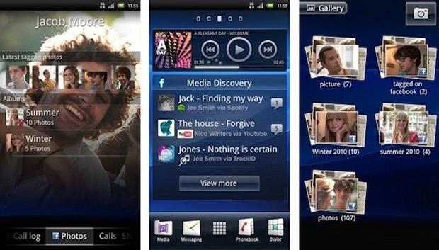 O Android para Xperia vem com novidades. (Foto: Divulgação)