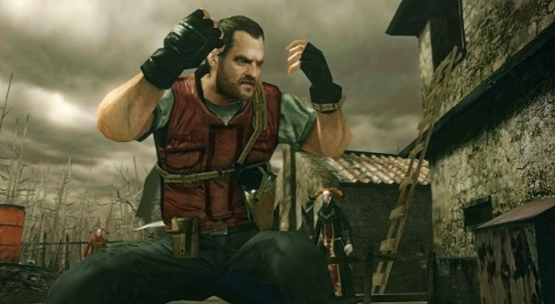 Barry Burton em Resident Evil: The Mercenaries 3D (Foto: Divulgação)