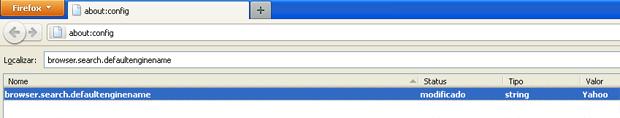 Restaurando o mecanismo de busca padrão (Foto: Reprodução/TechTudo)