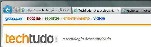 Internet Explorer 9 (Foto: Reprodução/Helito Bijora)