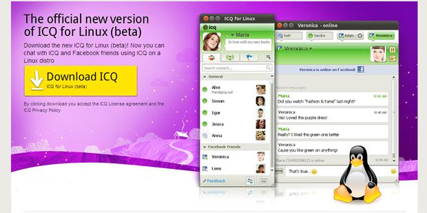 ICQ no Linux (Foto: Reprodução)