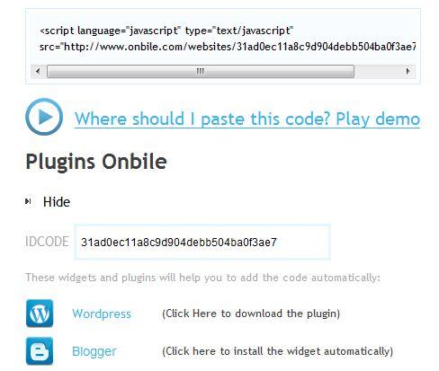 Copiando o código (Foto: Reprodução)