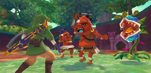 The Legend of Zelda: Skyward Sword é provavelmente um dos primeiros jogos na cronologia da série (Foto: Divulgação)