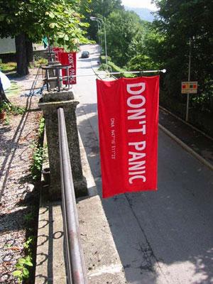 Dia da Toalha sendo comemorado em Innsbruck (Foto: Reprodução)