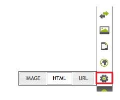 Abrindo a caixa de texto HTML (Foto: Reprodução)
