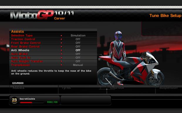 As personalizações são um dos pontos altos de MotoGP 10/11 (Foto: Divulgação)