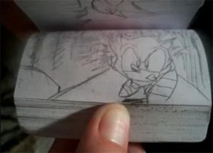 """Sonic """"animado"""" (Foto: Reprodução)"""