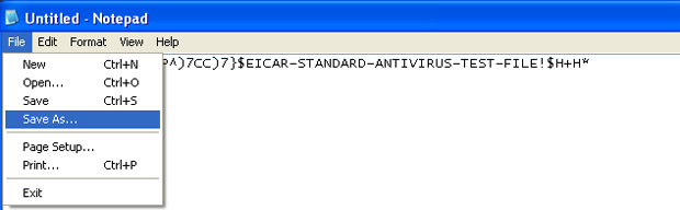 Teste de detecção de vírus (Foto: Reprodução/TechTudo)