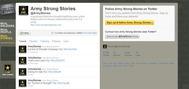Army Strong Stories (Foto: Reprodução)