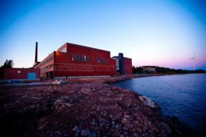Antiga fábrica de papel utilizada agora pela Google. (Foto: Divulgação)