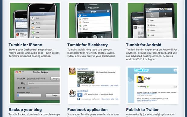Acesso via smartphone e outros aplicativos (Foto: Reprodução)