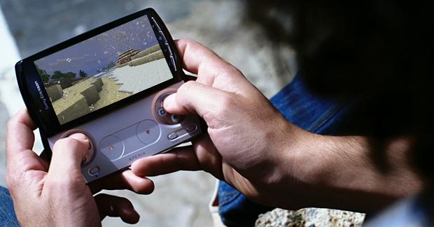 Minecraft chegará primeiro ao Xperia Play (Foto: Reprodução)